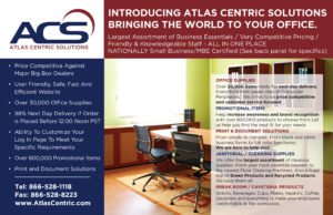 Atlas Centric Solutions - logo design and intro piece