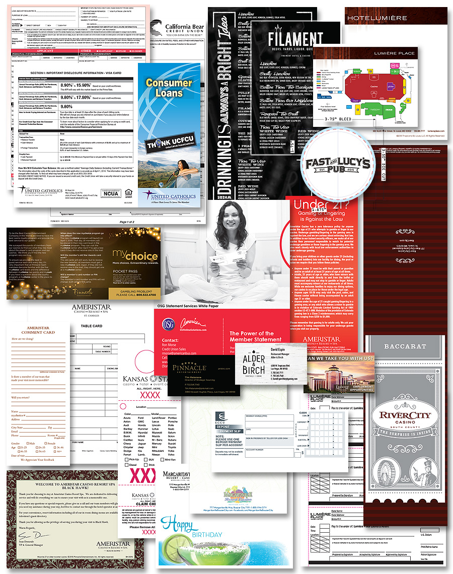 Kray Marketing - forms, corporate communications documents, print management, print on demand, fill and print, fill n print